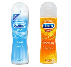 Zestaw żeli Durex Play Feel 50 ml + Durex Play Warming 50 ml