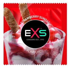 Exs Strawberry Sundae (1 szt.)