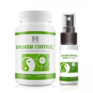 Orgasm Control 60 Kaps + Spray 15 ml