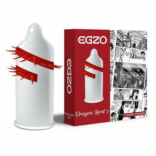 Egzo Cocky Friend Red Dragon Lord's - Soft (1szt.)